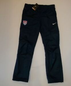 NIKE Storm-Fit Stay Dry Soccer USA National Team Wind PANTS womens Sz SMALL NEW
