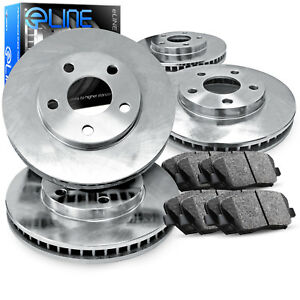 Full Kit eLine Replacement Brake Rotors & Ceramic Brake Pads CEB.42161.02