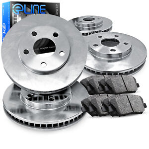 Full Kit eLine Replacement Brake Rotors & Ceramic Brake Pads CEB.63218.02