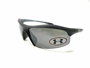 Under Armour Sunglasses ZONE Satin Black Gray Multiflection New Authentic
