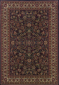2x10 Runner Sphinx Persian Black Persian 113B Area Rug - Approx 2' 7'' x 9' 4''