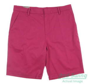 New Mens Ashworth Golf Shorts Size 34 Red MSRP $75 AM6116S4