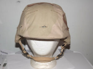 U.S. ARMY MADE WITH KEVLAR HELMET with COVER SIZE M-2
