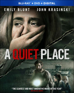 A Quiet Place New Blu ray With DVD Widescreen 2 Pack Digital Theater Syst $12.65