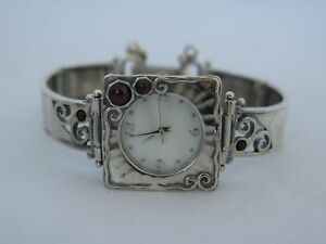 Nice Sterling Silver Small Bracelet Watch