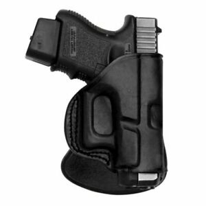Tagua Gunleather Rotating Quick Draw Paddle Holster Fits Glock 1923: PD2R-310