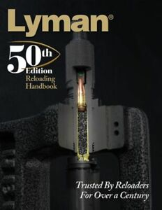 Lyman 50th Reloading Handbook Hardcover 528 Pages Book: 9816050