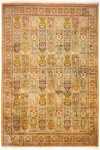 East Silk Carpet Cashmere Real Silk 168 18x117 516in Hand Knotted