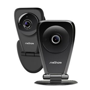 meShare 1080p HD Wireless Security Camera 2 Pack, Motion Alert, Audio, Pet, Baby