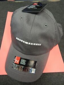 NEW WOMEN'S UNDER ARMOUR UA FREE FIT CAP HAT ONE SIZE NWT GOLF SUN TENNIS GREY