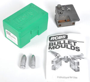 RCBS 32-84-WC Cavity Bullet Mold Case Instructions 32 caliber 84 grain wadcutter