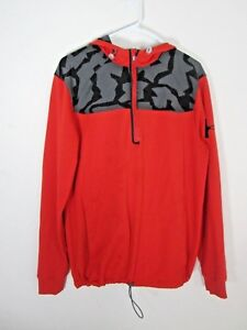 Under Armour Womens Hoodie Re 12 Zip Camo Trim Size Small