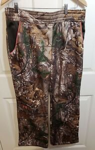Womens UNDER ARMOUR Camo Fleece Hunting Pants REALTREE AP XTRA 1260161 946 Large $38.92