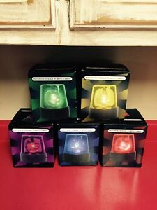 ROTATING BEACON PARTY LIGHT RED GREEN PURPLE CHOOSE COLOR (No Yellow or Blue)