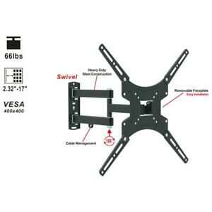 180° Full Motion TV Wall Mount Bracket for 13 32 40 42 47 50 Inch LCD Display