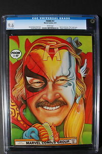 FOOM #17 Classic STAN LEE cover interview Special 1977 KISS Preview RARE CGC 9.6