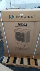 HESSAIRE MC92 PORTABLE EVAPORATIVE COOLER 11000 CFM SWAMP COOLER