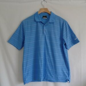 Nike Golf Fit Dry Blue Stripe Polo Shirt Boy XL 18 20