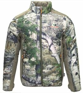 3X 2X L Mens Mossy Oak 3M Thinsulate Insulated Jacket Coat Camo Mountain Country