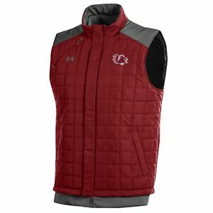 South Carolina Gamecocks Under Armour Storm Loose Coldgear Full Zip Vest