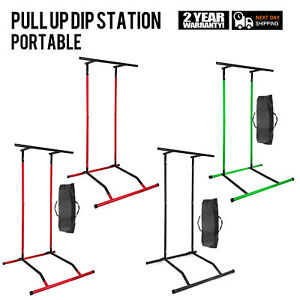 Portable Power Tower for Home Gym Workout With Dip Station And Chin Pull Up Bar