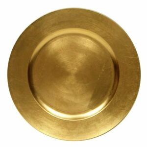 Round Charger Dinner Plates Gold 13 inch Set of 1246 or 12 (2)