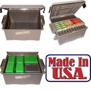 Military Ammo Box  Large Storage Plastic Case Water-resistant