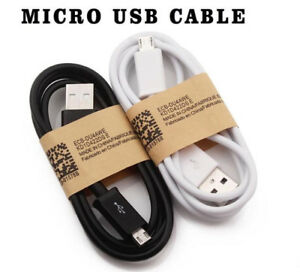 Lot 1000x Micro USB Charger Charging Sync Data Cable For Samsung Android Phone