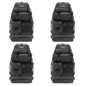 Smittybilt GEAR 1976-2013 Jeep Wrangler Storage Bag Front Seat Cover (4 Pack)