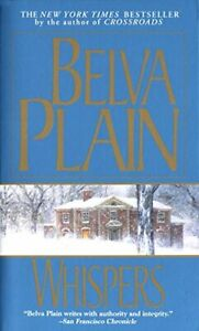 Whispers by Plain, Belva Book The Fast Free Shipping