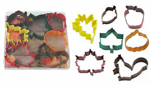 R & M International Corp. Autumn Leaf 7 Piece Cookie Cutter Set