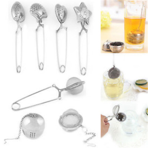 Stainless Steel Tea Infuser Herbal Spice Filter Diffuser Loose Tea Leaf Strainer C $1.39