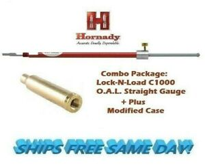 Hornady Lock-N-Load STRAIGHT OAL Gauge C1000 + 270 Winchester Modified Case A270
