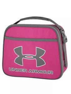 Under Armour Girls Lunch Box in Tropical Pink New with Tags