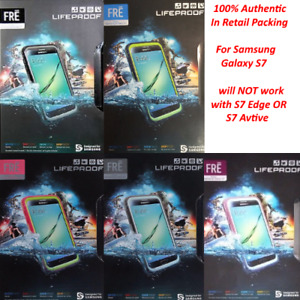 Authentic Lifeproof Case WaterProof Cover For Samsung Galaxy S7 Brand New Sealed