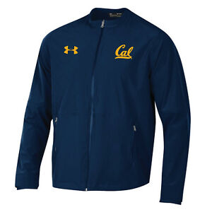 Cal Bears Under Armour Midnight Navy Full Zip Storm Loose Sideline Warmup Jacket