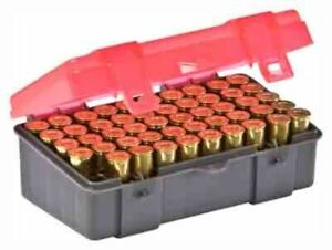 Plano Molding Ammo Box .44.45lc 50-rnds Flip Top Lots: 122650