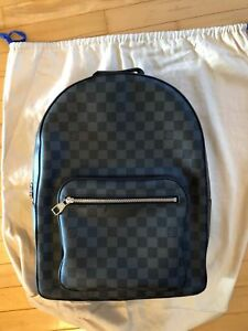 AUTHENTIC LOUIS VUITTON JOSH Monogram Macassar BACKPACK WORN ONCE