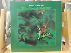 ARTHUR LYMAN GROUP LULLABY OF THE LEAVES JAZZ RARE EASY LISTENING VINYL LP