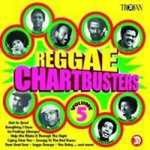 Reggae Chartbusters Vol.5 - Reggae Chartbusters Compact Disc Free Shipping!