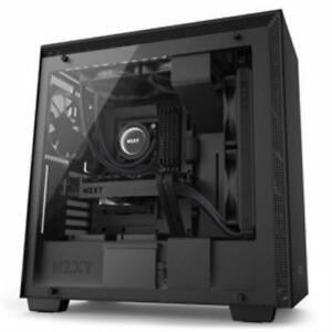 Nzxt 212880 Case Ca-h700w-bb H700i [3] Usb 3.1 Window Cam No Power Supply