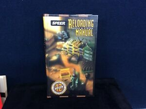 SPEER RELOADING MANUAL RIFLE AND PISTOL BOOK 12 HC c1994 BLOUNT INC. SPORTING E