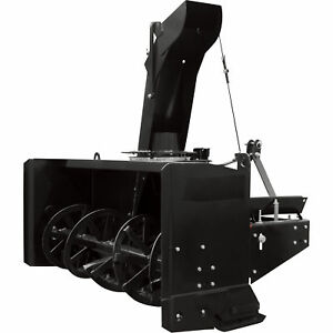 NorTrac 3-Pt Snow Thrower-86in W Intake Fits Tractors 50HP to 80 HP #BE-SBS86HDG