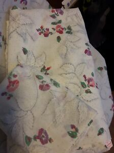 VTG TASTEMAKER J.P. STEVENS No Iron Muslin Twin sheet set Flat fitted pillowcase