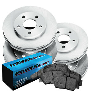 Full Kit Replacement Brake Rotors and Ceramic Pads 2012-2014 Jeep Grand Cherokee