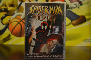 Spider-Man Ulimited The Complete Ainmated Series Dvd Set