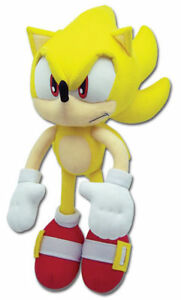 Super Sonic The Hedgehog Tails Plush Doll Stuffed Animal Soft Toys 13 inch Gift