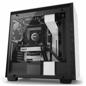 Nzxt 212883 Case Ca-h700w-wb H700i [3] Usb 3.1 Window Cam No Power Supply