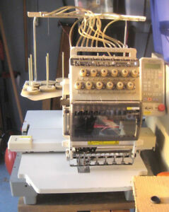 Toyota Expert AD860 12 Needle Commercial Embroidery Machine