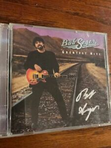 Bob Seger signed cd + coa! Silver Bullet Band autographed cover very Rare!